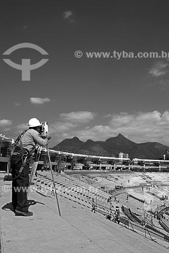 Assunto: Reforma do Estádio Jornalista Mário Filho - também conhecido como Maracanã / Local: Maracanã - Rio de Janeiro (RJ) - Brasil / Data: 02/2013