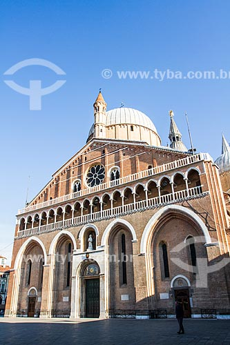 Assunto: Basílica de Santo Antonio de Pádua (Basilica di Sant Antonio di Padova) / Local: Pádua - Província de Pádua - Itália - Europa / Data: 12/2012