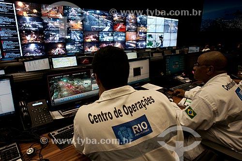 Assunto: Centro de Operações da Prefeitura do Rio (COR) / Local: Rio de Janeiro (RJ) - Brasil / Data: 04/2012