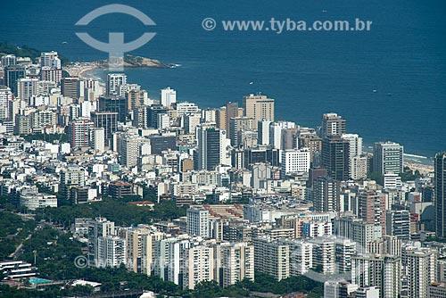 Assunto: Vista de prédios dos bairros Leblon e Ipanema / Local: Rio de Janeiro (RJ) - Brasil / Data: 02/2013