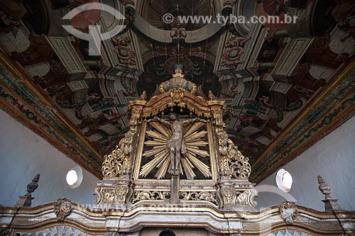 Assunto: Coro com escultura de Cristo em Jacarandá (Século XVII) na Igreja de São Francisco no Centro Cultural São Francisco / Local: João Pessoa - Paraíba (PB) - Brasil / Data: 02/2013