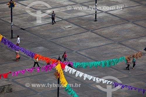 Assunto: Pessoas na Praça Vidal de Negreiros - também conhecida como Ponto de Cem Réis / Local: João Pessoa - Paraíba (PB) - Brasil / Data: 02/2013