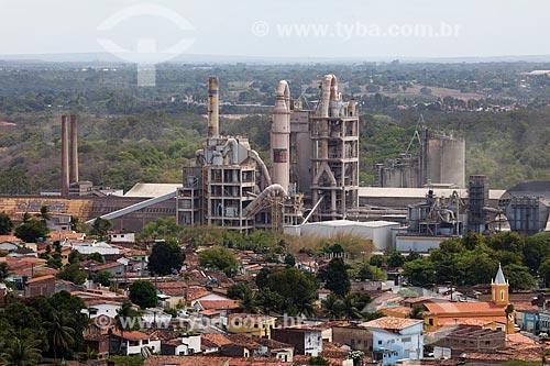 Assunto: Fábrica de cimentos Cimpor - Cimentos de Portugal / Local: Ilha do Bispo - João Pessoa - Paraíba (PB) - Brasil / Data: 02/2013