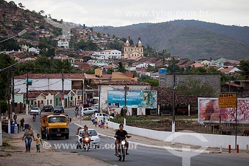 Assunto: Tráfego em Alagoa Grande - cidade natal do compositor Jackson do Pandeiro / Local: Alagoa Grande - Paraíba (PB) - Brasil / Data: 02/2013