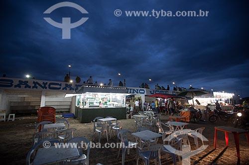 Assunto: Praça de alimentação no Parque Santa Terezinha / Local: Alagoa Grande - Paraíba (PB) - Brasil / Data: 02/2013