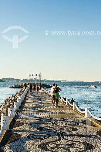 Assunto: Molhe da Barra Sul / Local: Balneário Camboriú - Santa Catarina (SC) - Brasil / Data: 04/2013