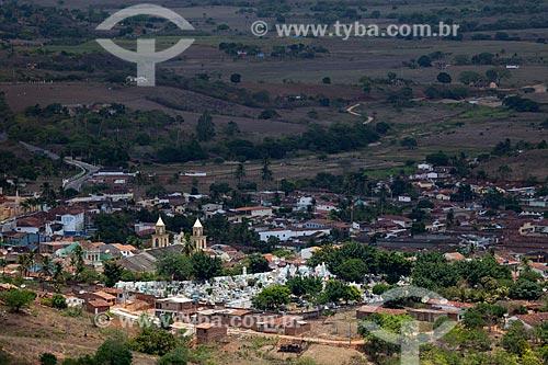 Assunto: Vista da cidade de Alagoa Grande a partir do Morro do Cruzeiro - cidade natal do compositor Jackson do Pandeiro / Local: Alagoa Grande - Paraíba (PB) - Brasil / Data: 02/2013