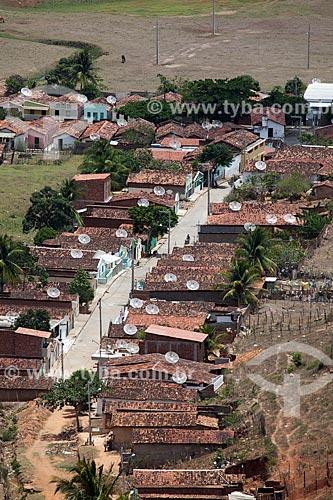 Assunto: Vista de uma rua na cidade de Alagoa Grande a partir do Morro do Cruzeiro - cidade natal do compositor Jackson do Pandeiro / Local: Alagoa Grande - Paraíba (PB) - Brasil / Data: 02/2013