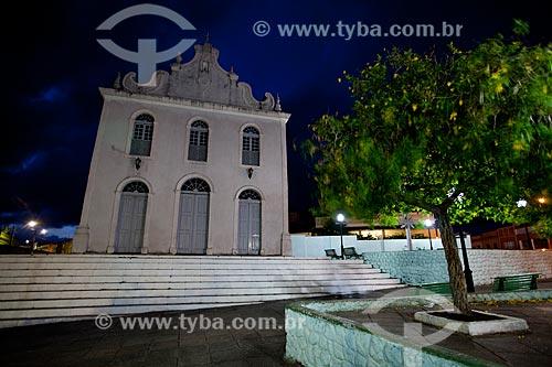 Assunto: Praça José Américo de Almeida com a Igreja do Rosário dos Pretos (1886) ao fundo / Local: Areia - Paraíba (PB) - Brasil / Data: 02/2013