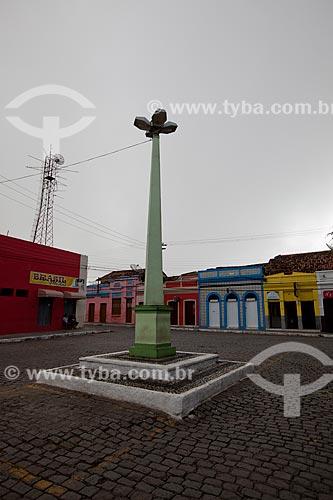 Assunto: Marco comemorativo do 1º centenário da cidade de Areia na Praça Três de Maio / Local: Areia - Paraíba (PB) - Brasil / Data: 02/2013
