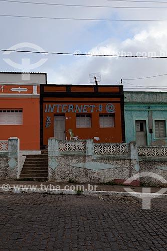 Assunto: Lan House e casarios históricos / Local: Areia - Paraíba (PB) - Brasil / Data: 02/2013