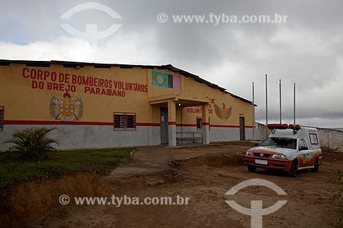 Assunto: Quartel do Corpo de Bombeiros do Brejo Paraibano / Local: Areia - Paraíba (PB) - Brasil / Data: 02/2013