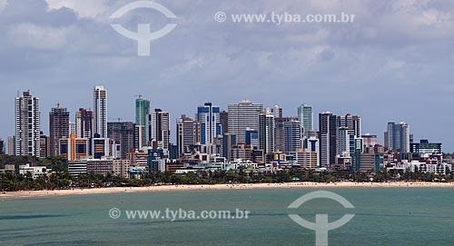 Assunto: Vista geral da Praia de Tambaú / Local: João Pessoa - Paraíba (PB) - Brasil / Data: 02/2013