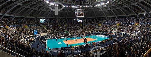 Jogo entre RJX x Sada Cruzeiro - jogo final da Superliga Masculina de Vôlei temporada 2012/13 no Ginásio Gilberto Cardoso (1954) - também conhecido como Maracanãzinho   - Rio de Janeiro - Rio de Janeiro - Brasil