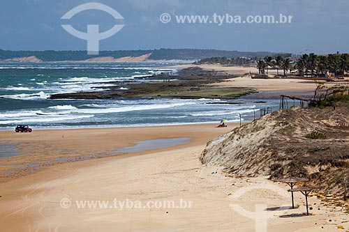 Assunto: Vista da Praia de Sibaúma  / Local: Distrito de Pipa - Tibau do Sul - Rio Grande do Norte (RN) - Brasil / Data: 03/2013