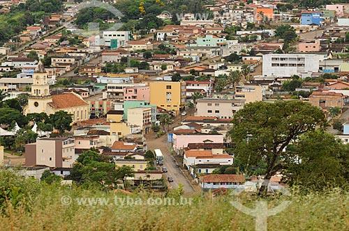 Assunto: Casas na cidade de São Roque de Minas e Igreja Matriz de São Roque / Local: São Roque de Minas - Minas Gerais (MG) - Brasil / Data: 03/2013