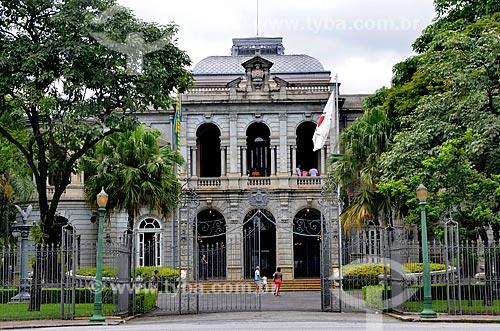 Assunto: Palácio da Liberdade (1897) - integra o Circuito Cultural Praça da Liberdade / Local: Belo Horizonte - Minas Gerais (MG) - Brasil / Data: 01/2013
