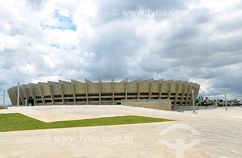 Assunto: Estádio Governador Magalhães Pinto (1965) - também conhecido como Mineirão / Local: Belo Horizonte - Minas Gerais (MG) - Brasil / Data: 01/2013