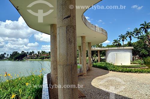 Assunto: Jardins da Casa do Baile (1943) / Local: Pampulha - Belo Horizonte - Minas Gerais (MG) - Brasil / Data: 01/2013