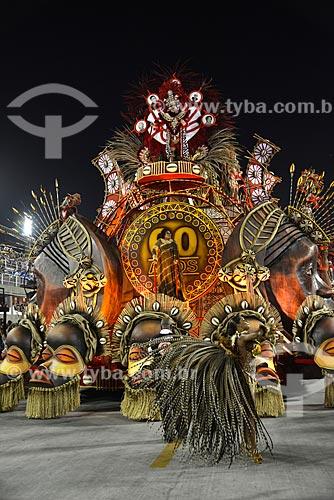 Assunto: Desfile do Grêmio Recreativo Escola de Samba Acadêmicos do Salgueiro - Carro alegórico - Enredo 2013 - Fama / Local: Rio de Janeiro (RJ) - Brasil / Data: 02/2013