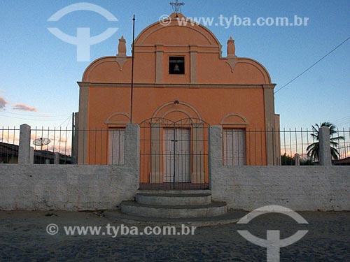 Assunto: Capela no distrito de Juatama / Local: Distrito de Juatama - Quixadá - Ceará (CE) - Brasil / Data: 04/2013
