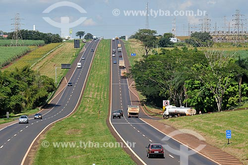 Assunto: Rodovia Anhanguera (SP-330) / Local: Ituverava - São Paulo (SP) - Brasil / Data: 03/2013