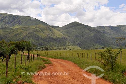 Assunto: Vale da Gurita na Serra da Canastra / Local: Delfinópolis - Minas Gerais (MG) - Brasil / Data: 03/2013
