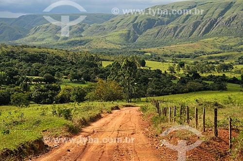 Assunto: Vista do Vale da Gurita na Serra da Canastra / Local: Delfinópolis - Minas Gerais (MG) - Brasil / Data: 03/2013