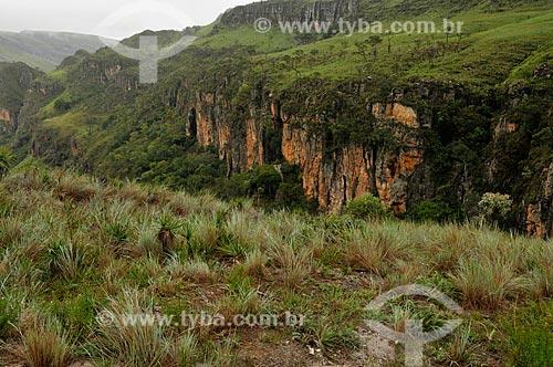 Assunto: Vista do Vale dos Canteiros na Serra da Canastra / Local: São João Batista do Glória - Minas Gerais (MG) - Brasil / Data: 03/2013