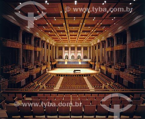 Assunto: Palco da Sala São Paulo / Local: São Paulo (SP) - Brasil / Data: 1999