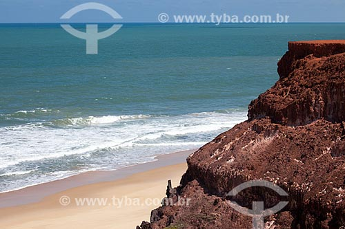 Assunto: Vista da praia de Pipa e falésia conhecida como Mirante do Chapadão  / Local: Distrito de Pipa - Tibau do Sul - Rio Grande do Norte  (RN) - Brasil / Data: 03/2013