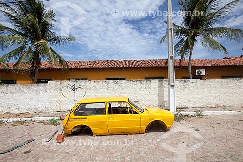 Assunto: Carroceria de carro (Brasília) na Rua Presidente Juscelino Kubitschek,173 / Local: Tibau do Sul - Rio Grande do Norte (RN) - Brasil / Data: 03/2013