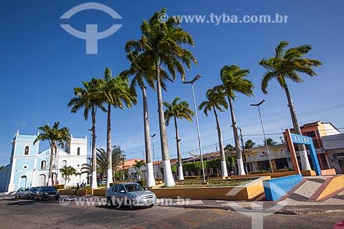 Assunto: Igreja Nossa Senhora dos Prazeres na Praça Monsenhor Armando de Paiva / Local: Goianinha - Rio Grande do Norte (RN) - Brasil / Data: 03/2013