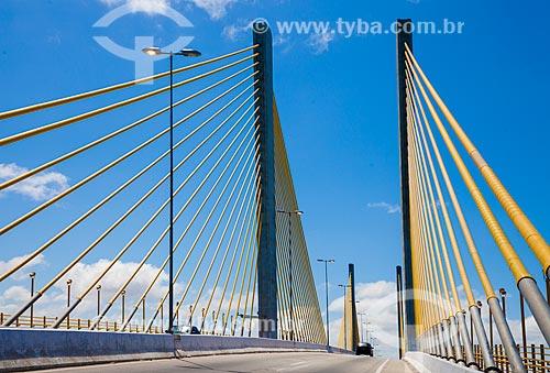 Assunto: Vista da Ponte Newton Navarro (2007) / Local: Natal - Rio Grande do Norte (RN) - Brasil / Data: 03/2013