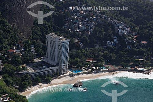 Assunto: Hotel Sheraton  e Favela Chácara do Céu / Local: Leblon - Rio de Janeiro (RJ) - Brasil / Data: 05/2012