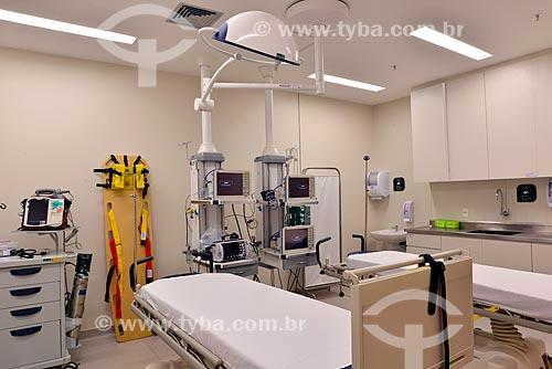 Assunto: Sala de estabilização de hospital / Local: Rio de Janeiro (RJ) - Brasil / Data: 04/2013