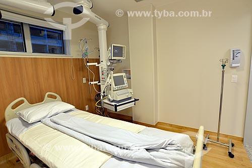 Assunto: Leito de UTI de hospital / Local: Rio de Janeiro (RJ) - Brasil / Data: 04/2013