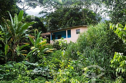 Assunto: Casa na comunidade do Horto Florestal -  área que pertence a União Federal e, que será desapropriada por determinação do Tribunal de Contas da União (TCU) / Local: Jardim Botânico - Rio de Janeiro (RJ) - Brasil / Data: 04/2013