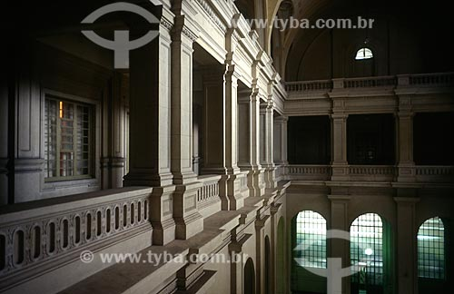 Assunto: Interior da Sala São Paulo - sede da Orquestra Sinfônica do Estado de São Paulo / Local: São Paulo (SP) - Brasil / Data: 1997