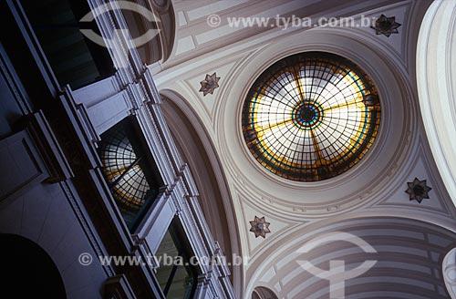 Assunto: Clarabóia da Sala São Paulo - sede da Orquestra Sinfônica do Estado de São Paulo / Local: São Paulo (SP) - Brasil / Data: 1997