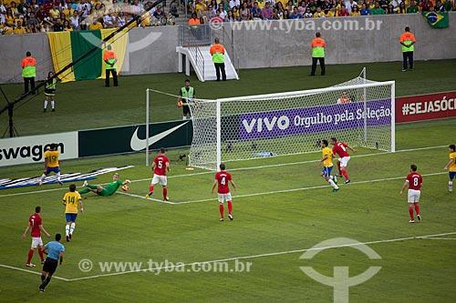 Assunto: Jogo amistoso entre Brasil x Inglaterra no Estádio Jornalista Mário Filho - também conhecido como Maracanã / Local: Maracanã - Rio de Janeiro (RJ) - Brasil / Data: 06/2013