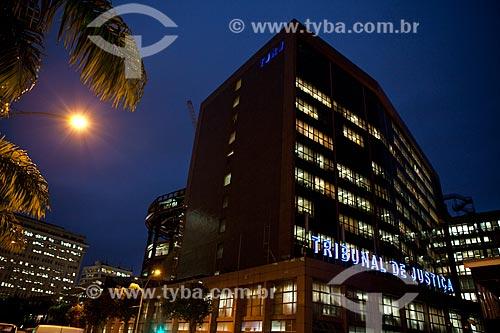 Assunto: Fachada do Tribunal de Justiça do Rio de Janeiro à noite / Local: Centro - Rio de Janeiro (RJ) - Brasil / Data: 06/2013