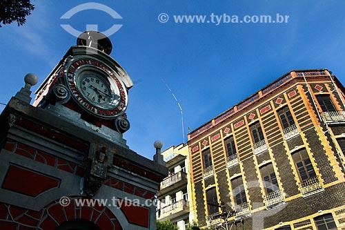 Assunto: Relógio Municipal da Praça da Matriz / Local: Manaus - Amazonas (AM) - Brasil / Data: 05/2013
