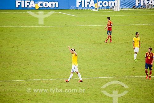 Assunto: Jogo entre Brasil x Espanha pela final da Copa das Confederações no Estádio Jornalista Mário Filho - também conhecido como Maracanã / Local: Maracanã - Rio de Janeiro (RJ) - Brasil / Data: 06/2013