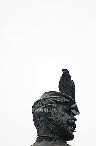 Assunto: Detalhe da estátua equestre do General Osório (1884) na  Praça XV de Novembro / Local: Centro - Rio de Janeiro (RJ) - Brasil / Data: 06/2013