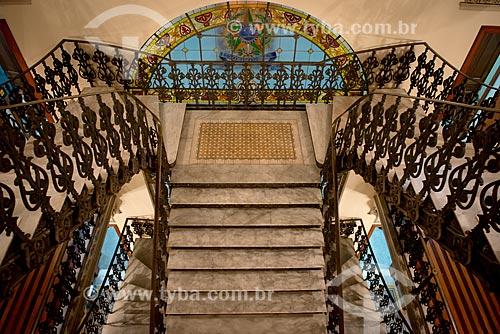 Assunto: Escadas do Centro Cultural Justiça Federal / Local: Rio de Janeiro (RJ) - Brasil / Data: 05/2013