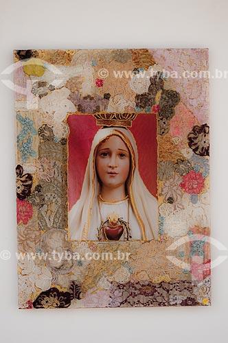 Assunto: Imagem de Nossa Senhora de Fátima / Local: Tiradentes - Minas Gerais (MG) - Brasil / Data: 05/2007