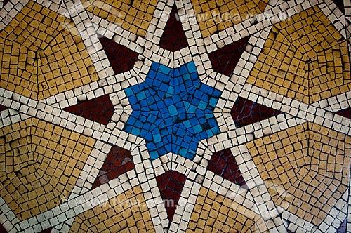 Assunto: Azulejo Mouro na Fundação Oswaldo Cruz / Local: Rio de Janeiro (RJ) - Brasil / Data: 06/2005