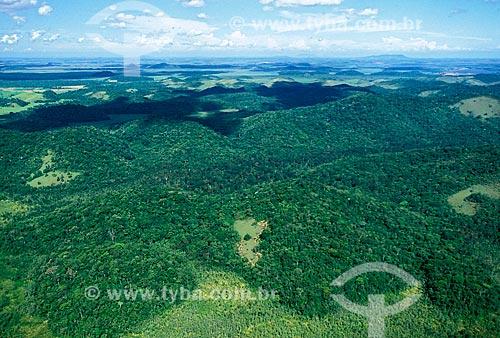 Assunto: Vista aérea da Reserva Biológica de Poço das Antas entre as cidades de Silva Jardim e Casimiro de Abreu / Local: Silva Jardim - Rio de Janeiro (RJ) - Brasil / Data: 2008