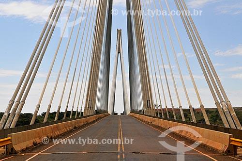 Assunto: Ponte de Porto Alencastro (2003) - divisa entre Mato Grosso do Sul e Minas Gerais / Local: Paranaíba - Mato Grosso do Sul (MS) - Brasil / Data: 07/2013